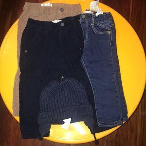 Zara pants bundle and free hat